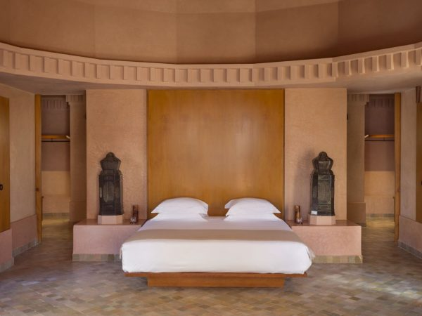 Amanjena Pavilion bedroom