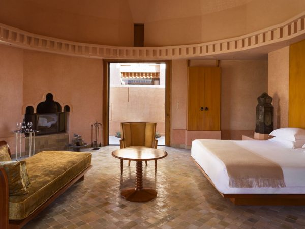 Pavilion bedroom
