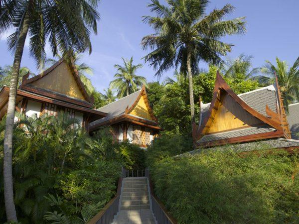 Pavilions Exterior