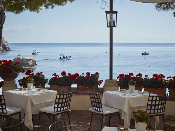 Belmond Villa Sant Andrea Sicily Restaurant
