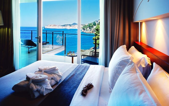 Villa Dubrovnik duke suite with seaview and terrace