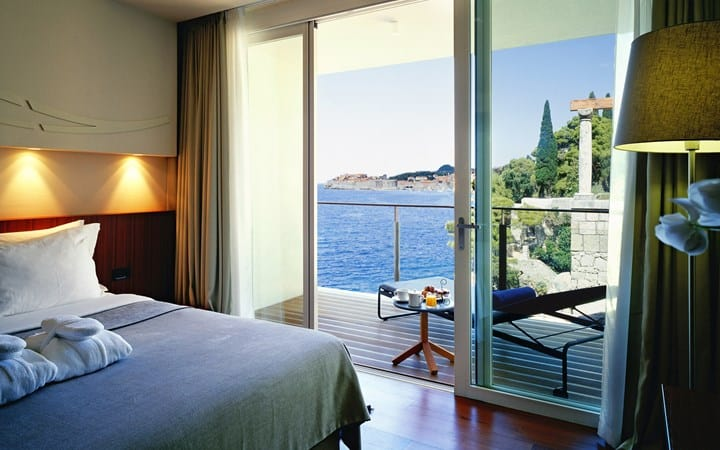 Villa Dubrovnik loft suite with seaview and terrace