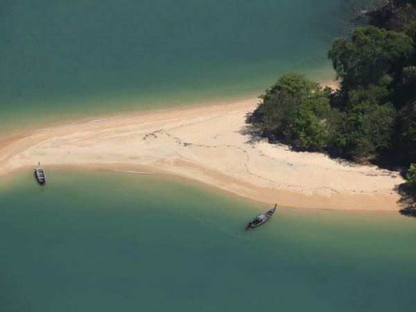 Aerial View Of Phang Nga Bay