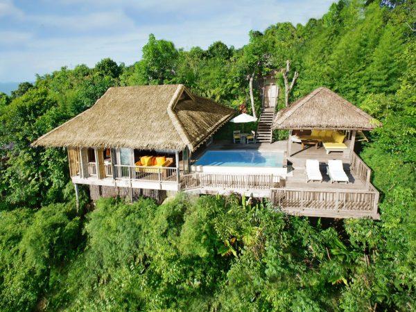 Aerial View Of One Bedroom Pool Villa