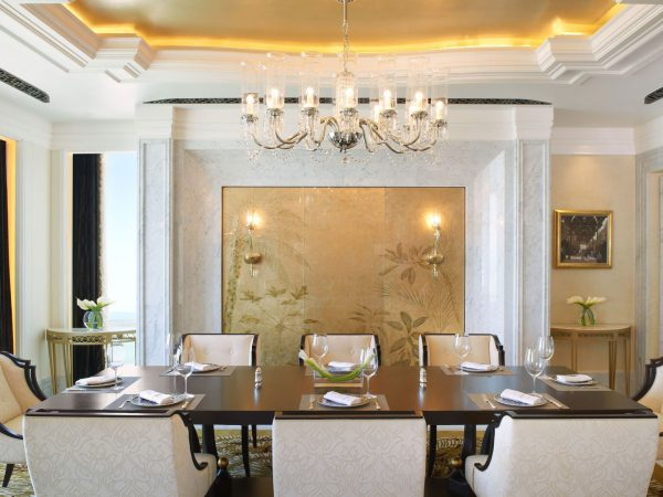 Al Hosen Suite Dining Room