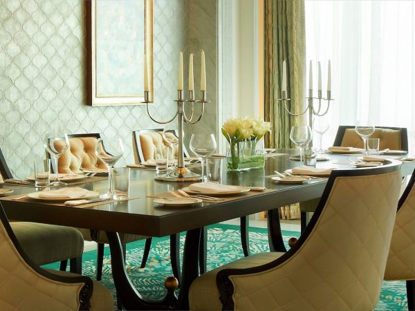 Al Manhal Suite Dining Room