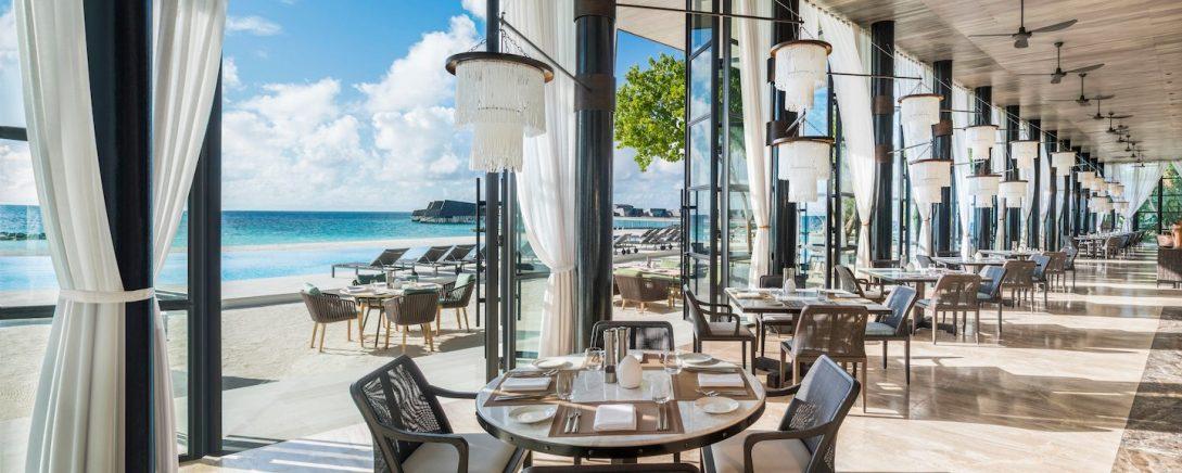 Alba restaurant St Regis Vommuli Maldives
