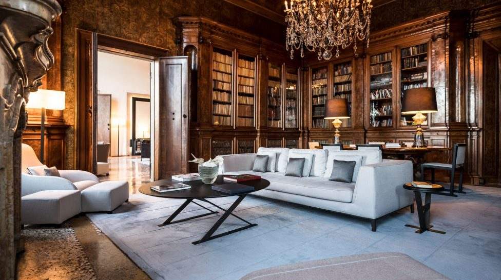 Aman Venice Library