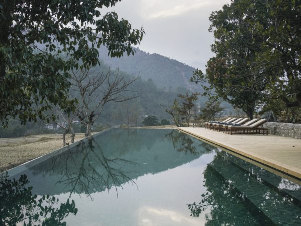 Punakha Lodge Swimming Pool