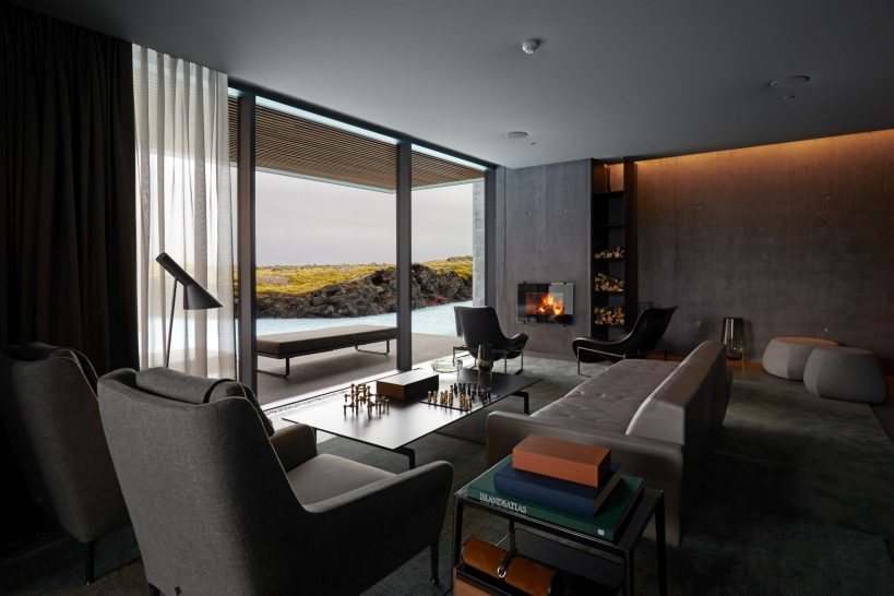 The Retreat at Blue Lagoon Iceland Moss And Lagoon Retreat Library