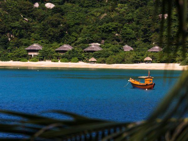 Beach Villas From Distance
