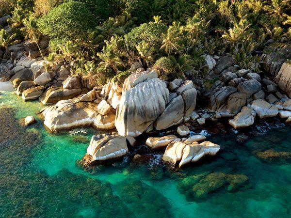 Coco Island Aerial