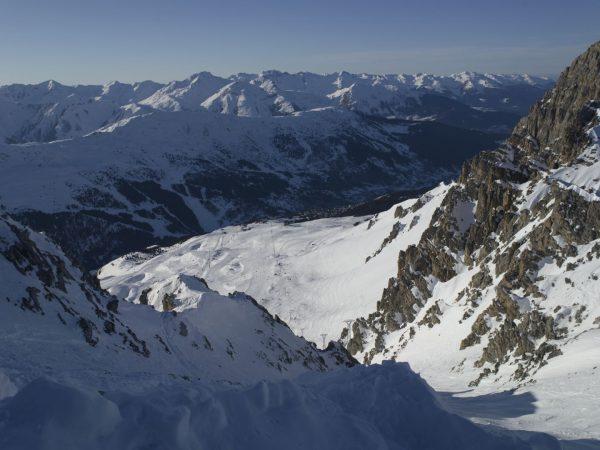 Courchevel Winter Scenery