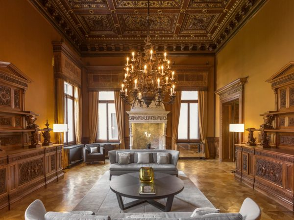 Traditionally The Grandest Floor Of The Palazzo, On Arrival Guests Are Welcomed To The First Floor Piano Nobile