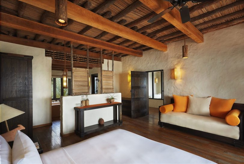Duplex 2 Bedroom Spa Pool Villa Suite Beachfront Interior