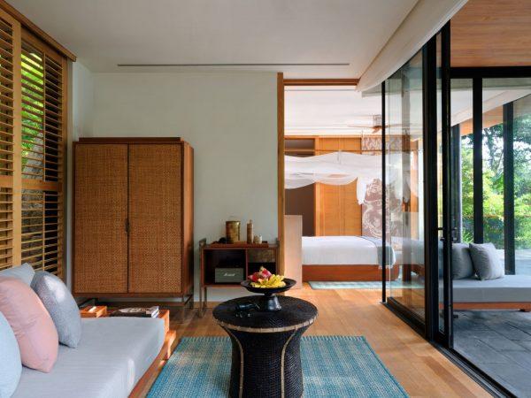 Hideaway Pool Villa Suite Living Room
