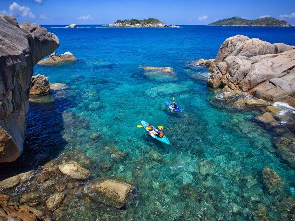 Kayaking To Koko Island