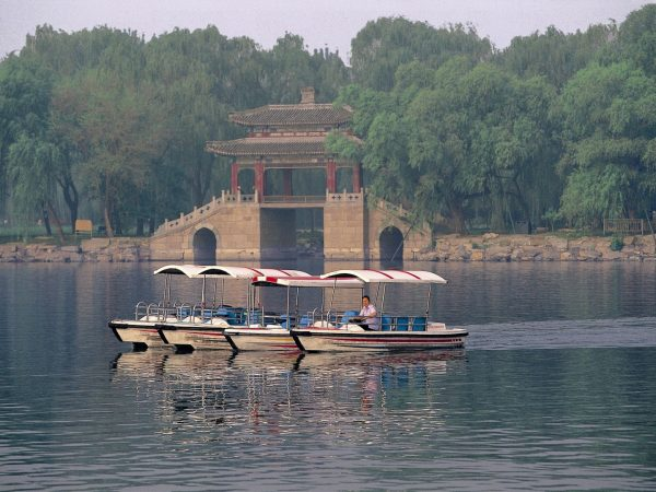 Kunming Lake-Bridge Scene
