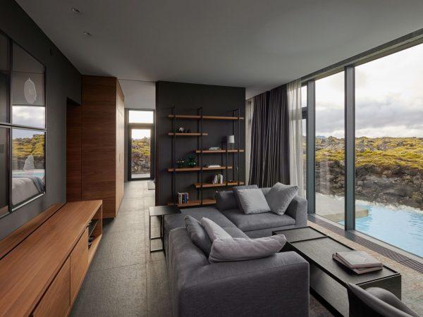 Lagoon Suite Living Room Area