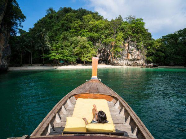 Longtail Boat Island Hopping
