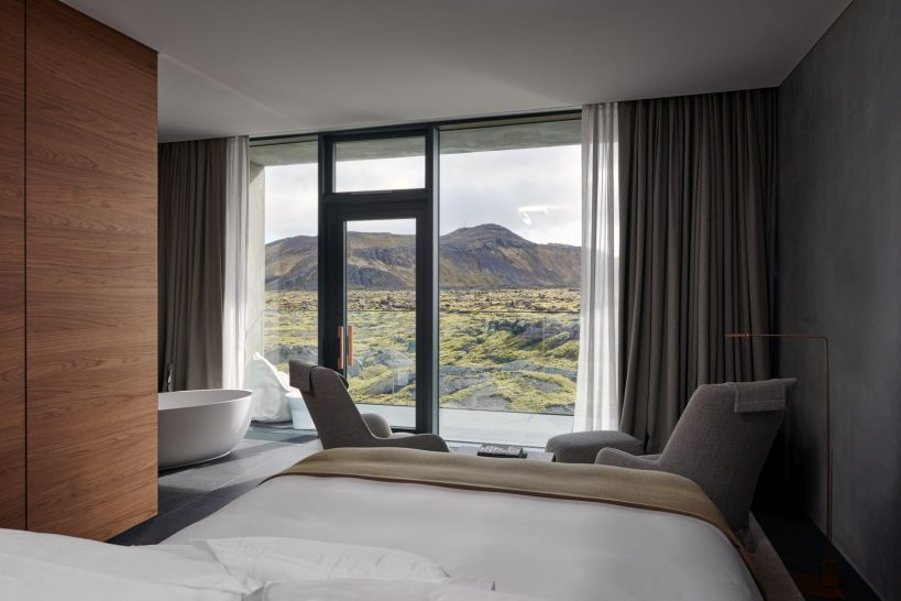 The Retreat at Blue Lagoon Iceland Moss And Lagoon Moss Junior Suite