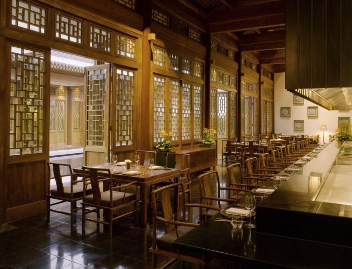 Set alongside a tranquil reflection pond, Naoki serves French Kaiseki fare. This style of cuisine combines French technique with Japanese culinary artistry.
