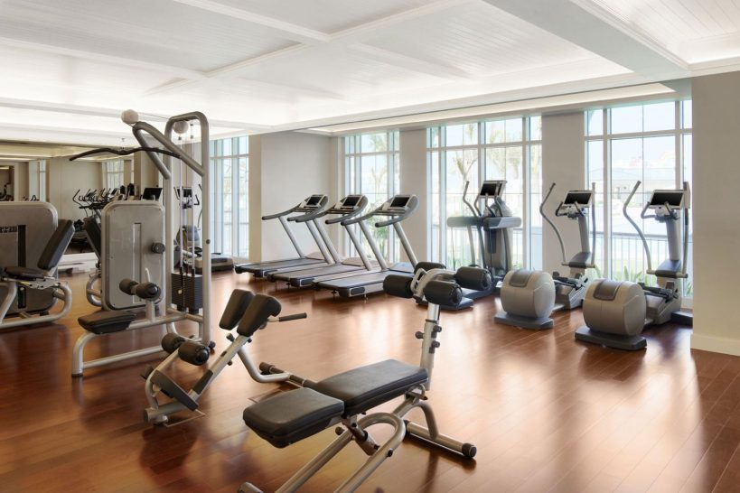 Nation Riviera Beach Club Exercise Room