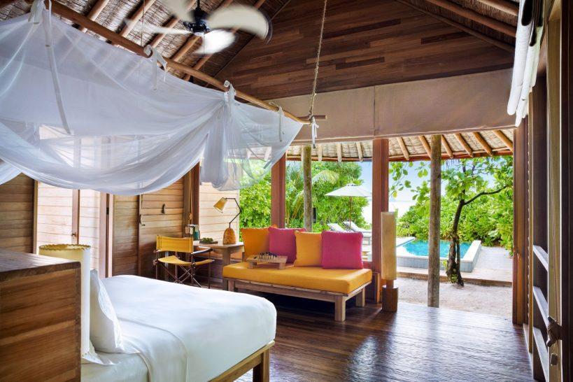 Ocean Beach Villa With Pool Interior