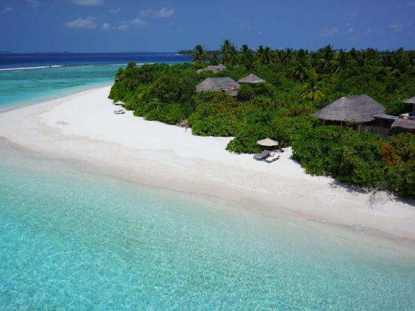 Ocean Beach Villas Aerial