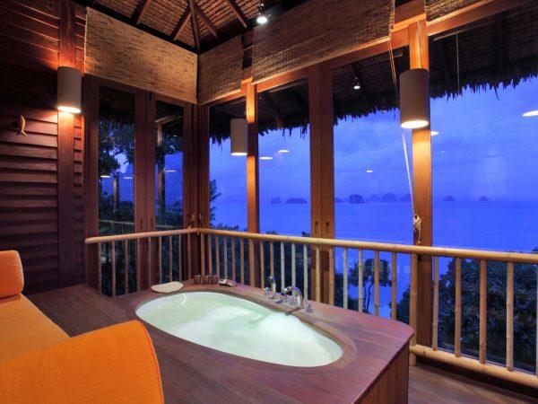 Ocean Panorama Pool Villa Bathroom