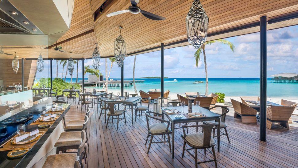 Orientale restaurant St Regis Vommuli Maldives