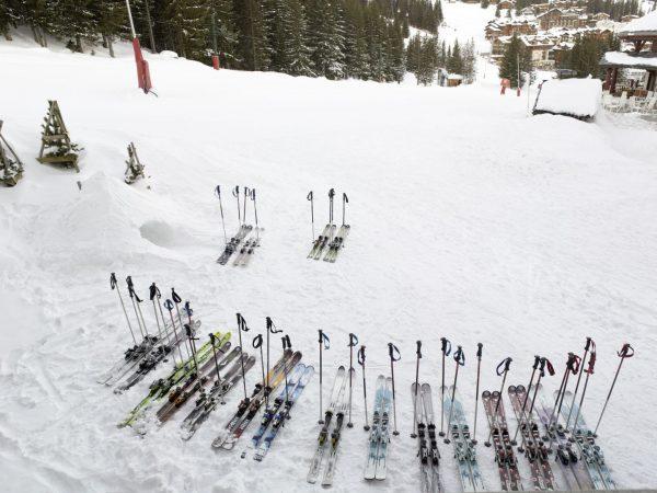 Outside Le Melezin Ski Room
