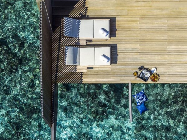 Overwater Villa With Pool Mood