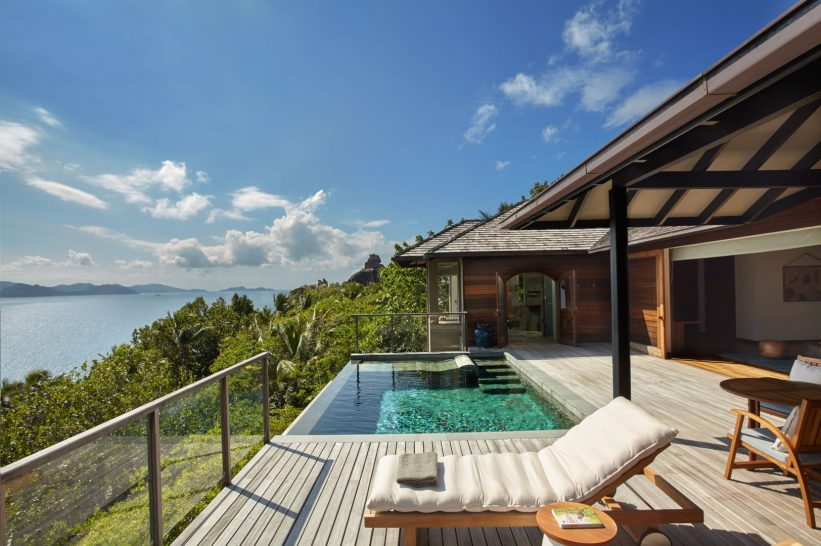 Panorama Pool Villa Deck