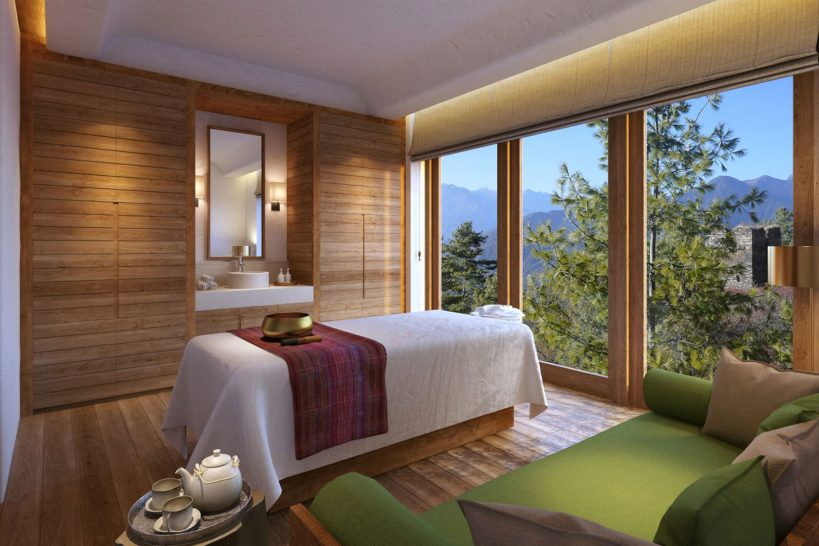 Paro Spa Treatment Room