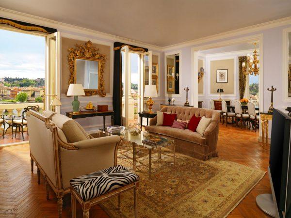Presidential Da Vinci Suite Living Room