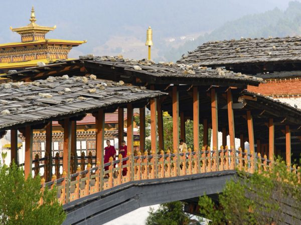 14 Punakha Dzong Bridge