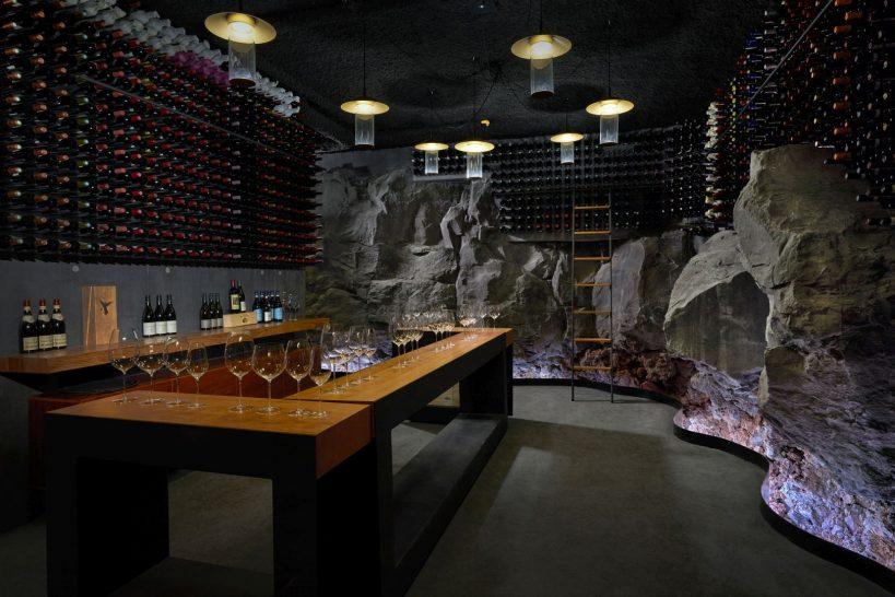 The Retreat at Blue Lagoon Iceland Moss And Lagoon Retreat Wine Cellar Wine Tasting
