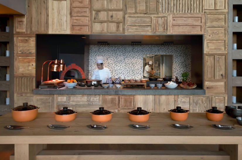 Sage & Sea Restaurant Brick Oven