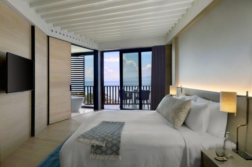 Seaview Deluxe Room Bedroom