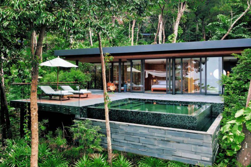 Six Senses Krabey Island Hideaway Pool Villa Suite