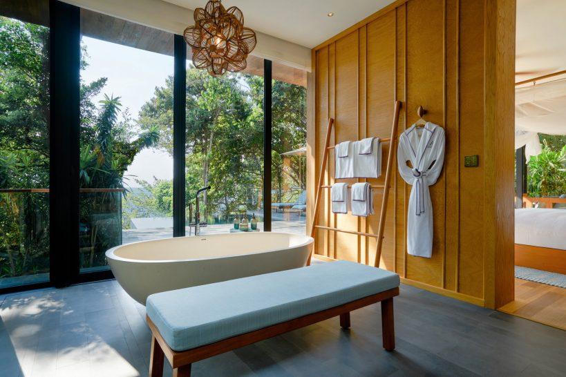 Six Senses Krabey Island Ocean Pool Villa Suite Bathroom