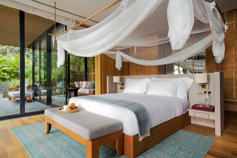 Six Senses Krabey Island Hideaway Pool Villa Suite Bedroom
