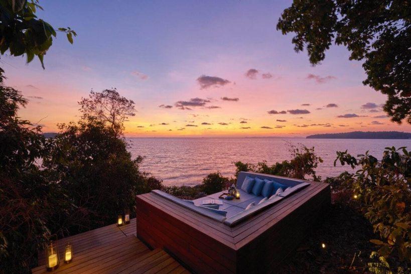 Six Senses Krabey Island Ocean Pool Villa Sundeck