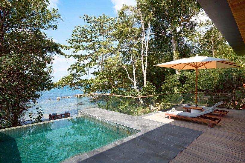 Six Senses Krabey Island Oceanfront Pool Villa Suite