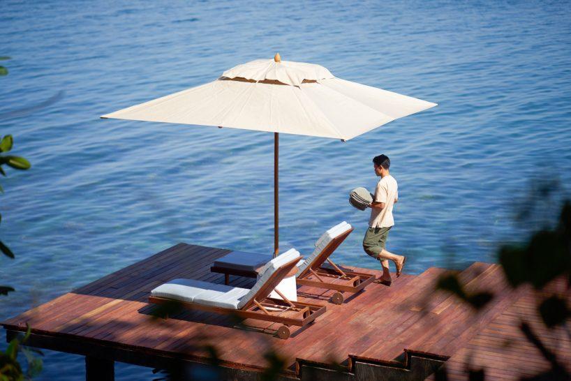 Six Senses Krabey Island Oceanfront Two Bedroom Pool Villa Sundeck