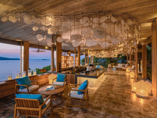 Six Senses Krabey Island Sunset Bar