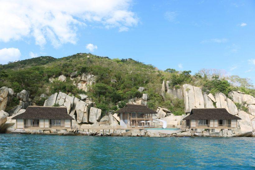Six Senses Ninh Van Bay Water Retreat Exterior
