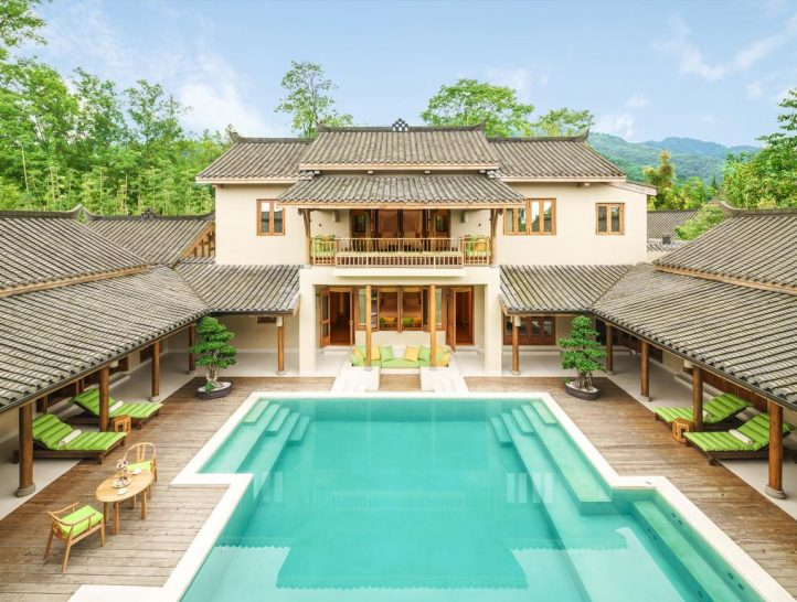 Six Senses Qing Cheng Mountain Villa Pool