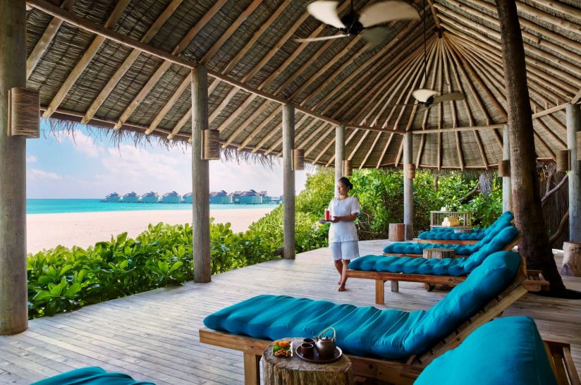Six Senses Spa Relaxation Lounge